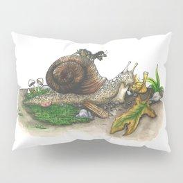Little Worlds: Snail and Cricket Pillow Sham