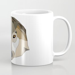 Low Poly Wolf - Animals Coffee Mug