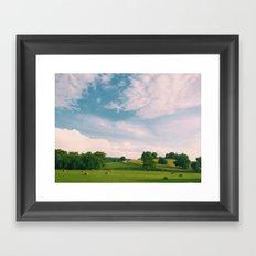 Tennessee Fields Framed Art Print