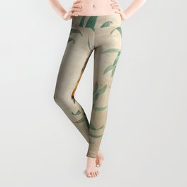 Vintage Hawaiian Pineapple Leggings
