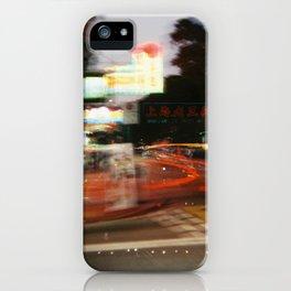 Hong Kong City Light iPhone Case