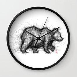 The Bear Necessities Wall Clock