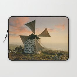 A rustic windmill in the Minho, north Portugal Laptop Sleeve