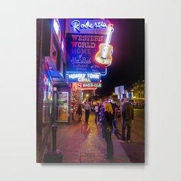 Roberts Western World- Nashville, TN. Metal Print