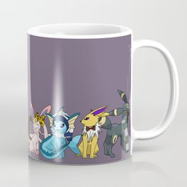 Eeveelutions Go To Hogwarts Coffee Mug