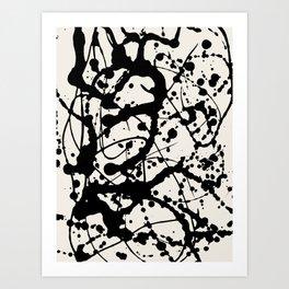 Cheers to Pollock Art Print
