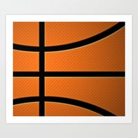 basketball Art Prints featuring Basketball by Eye Shutter to Think Photography