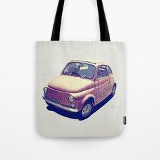 Fiat 500 - Italia Car Tote Bag