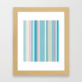 Earn Your Stripes Framed Art Print