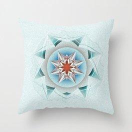 Anasazi Star Seed Series Mandala Throw Pillow