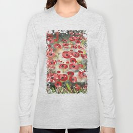 angela's poppies Long Sleeve T-shirt