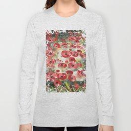 angela's poppies Long Sleeve T-shirt