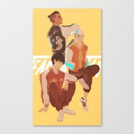 Team Avatar - Boys Canvas Print