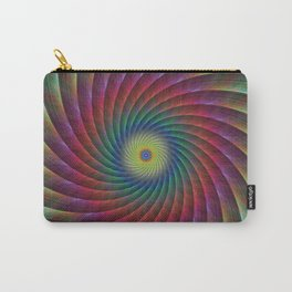 Swirl fractal Carry-All Pouch