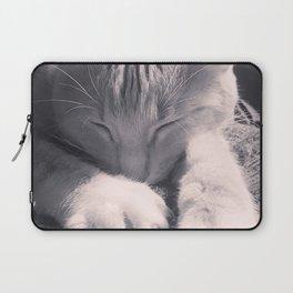 Sleepy Time Cat Laptop Sleeve
