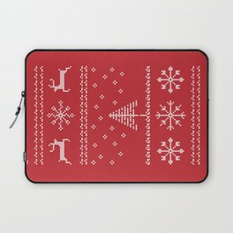 Pixel Tacky Sweater Laptop Sleeve