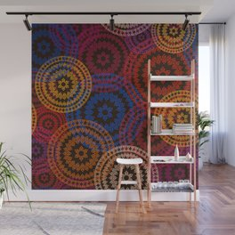 Indian Pattern Wall Mural