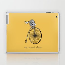 old school biker Laptop & iPad Skin