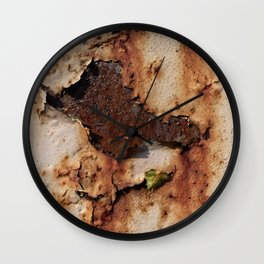 Colors of Rust / ROSTart Wall Clock