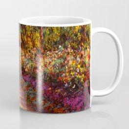 Garden Path at Giverny - Claude Monet 1902 Coffee Mug