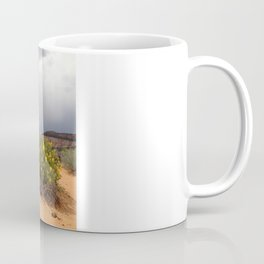 Gambrel Oak Tree with Yucca, Coral Pink Sand Dunes State Park, Utah 2013 Coffee Mug