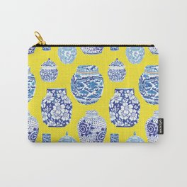 Chinoiserie Ginger Jar Collection No.2 Carry-All Pouch