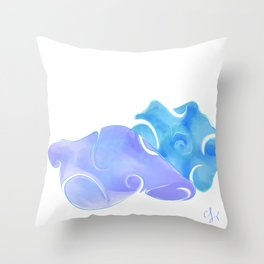Treasures of the Sea Throw Pillow