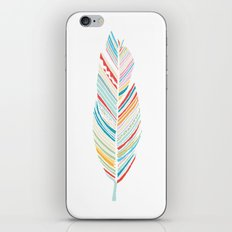 Lone Feather iPhone Skin