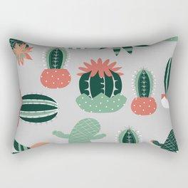 Succulents gray Rectangular Pillow