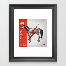Voltage - Variant Framed Art Print