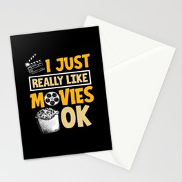 Film lovers Stationery Cards