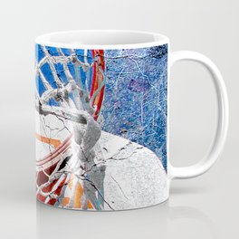 Contemporary basketball 3 Coffee Mug