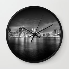 Manhattan Skyline Wall Clock