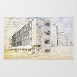 Bauhaus Building, Dessau Germany Rug