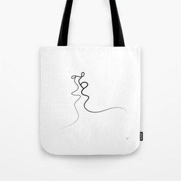 Kiss 2015 on white Tote Bag