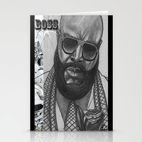 boss Stationery Cards featuring BOSS by TATTZ4CARZ