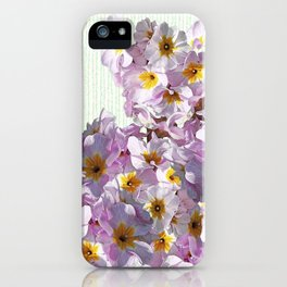 In the land of green and pink iPhone Case