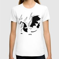 charizard T-shirts featuring Charizard Mega Y by Ruo7in