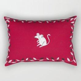 Little Mouse Rectangular Pillow