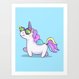 Fabulous Unicorn Art Print