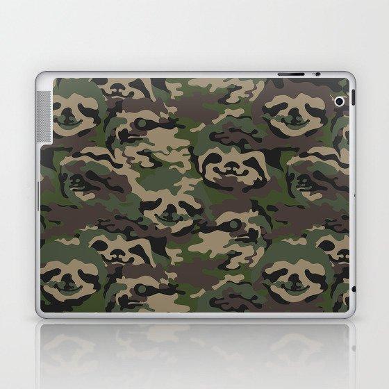 Sloth Camouflage Laptop & iPad Skin