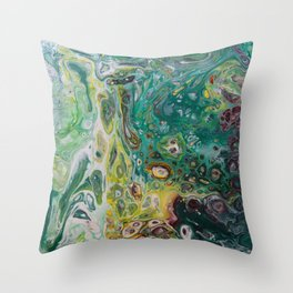 Hidden Treasures Throw Pillow