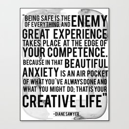 Your Creative Life Canvas Print
