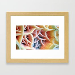 Patiflasmic Plasmatic Gestation Movement #2 Framed Art Print