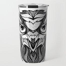 Owl - Drawing Travel Mug