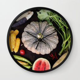 Nature's Wonderful Gift Wall Clock