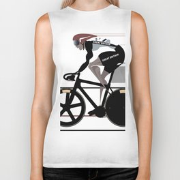 Velodrome Biker Tank