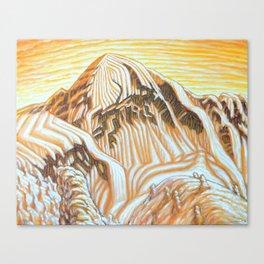 Ymir Peak 3 Canvas Print