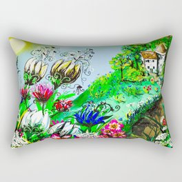 Enchanted Return Rectangular Pillow