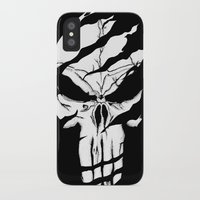 punisher iPhone & iPod Cases featuring Punisher by Spectral stories